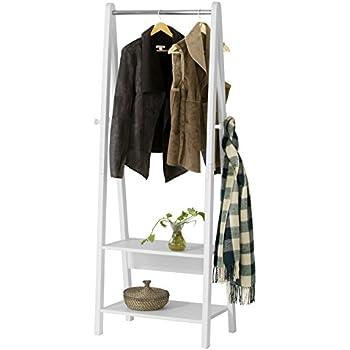 sobuy frg59 w porte v tement en bois penderie v tement. Black Bedroom Furniture Sets. Home Design Ideas