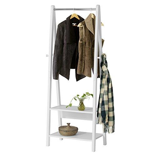 SoBuy® Moderna estantería escalonada 2 estantes