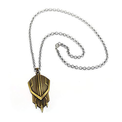 Avengers 3 Infinity War Halskette Captain America New Shield Metal Anhänger Mode Link Kette Charme Geschenke Film Schmuck (Link Shield Kostüm)