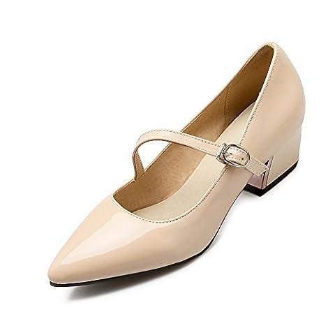 BalaMasa , Sandales Compensées femme - beige - beige,