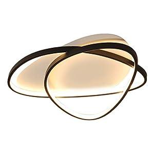 Led Deckenleuchte Schlafzimmerlampe Wohnzimmerlampe Restaurantlampe Deckenbeleuchtung Dimmbar Küchenleuchte Warm Romantische Elegant Einfache Mode Deckenlampe L53cm50w Aluminium Acryl
