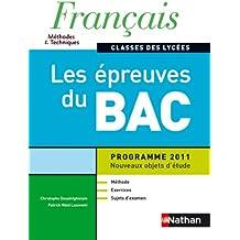 Français - Les épreuves du Bac