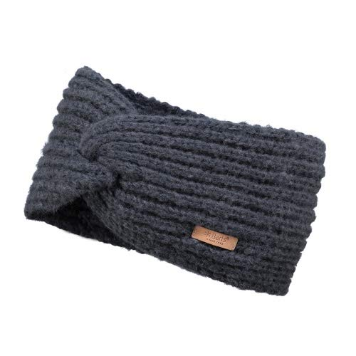 Barts Damen Desire Headband Stirnband, Grau (Charcoal 0021), One Size (Herstellergröße: Uni)
