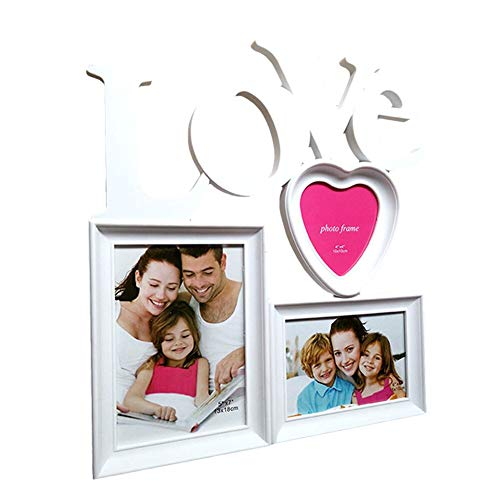 Fotorahmen Kombination Liebe DIY Home Decor Art Craft Familie Brief Fotorahmen Holz