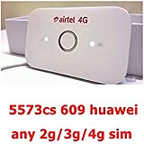 Airtel 4G Jio 4G Wifi Hotspot Latest (2g/3g/4g All Network) (Usb Wired+Wifi)(AIRCEL/VODAFONE/AIRTEL/JIO/IDEA\BSNL 4G,3G,2G, ANY GSM SIM)