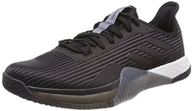 adidas Herren Crazytrain Elite M Gymnastikschuhe, Schwarz (Core Black/Core Black/Onix Core Black/Core Black/Onix), 44 EU