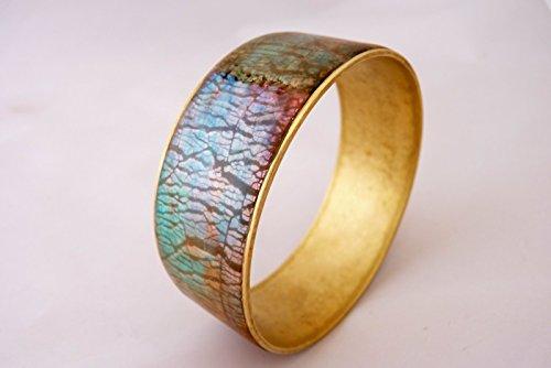 bracelet-jonc-en-laiton-et-argile-polymere-couleurs-cuivre-bleu-turquoise-bronzed-blues-creation-uni