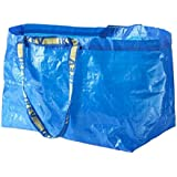 Ikea - 5x Frakta Blue Large Bags - Ideal For Outdoor Use & Storage (Max Load - 25kg)