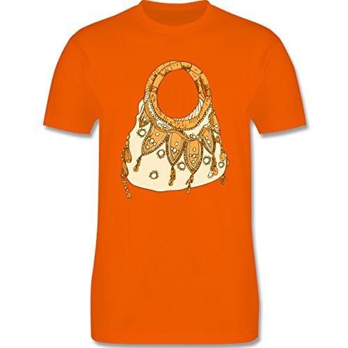 Symbole - Handtasche - Herren Premium T-Shirt Orange