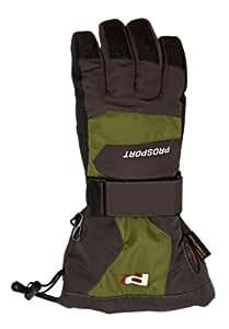 Prosport Men's Snowboarding Gloves brown Size:6.5