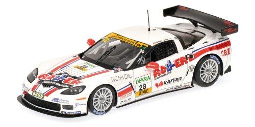 Preisvergleich Produktbild Minichamps 437111428 - Corvette Z06.R GT3 - Callaway Competition, Alessi/Keilwitz, Maßstab: 1:43