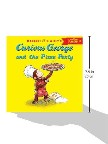 Image of Curious George and the Pizza Party (Curious George 8x8)