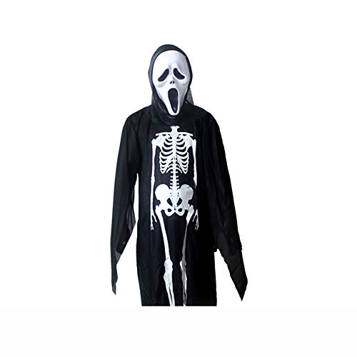 kleidung Maskerade Kostüm Horrormaske Halloween Erwachsene Kleidung Kinderkleidung,G ()