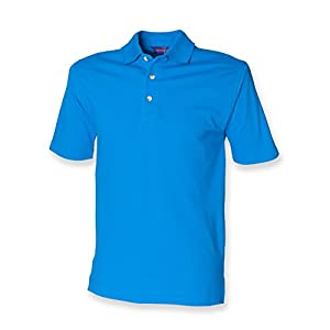 41xTw5aIgOL. SS300  - Henbury classic polo shirt in Vivid Blue L