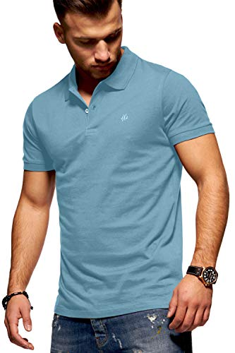 JACK & JONES Herren Poloshirt Polohemd Shirt Basic Polo Taxis (XX-Large, Forget-Me-Not)