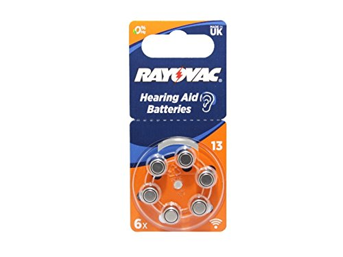 Kompatible 1,45V Zink Batterie Naída V-RIC V-SP Q-RIC Q-SP Hörgerät Hörsystem