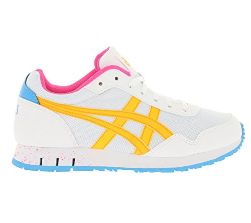 Asics Curreo, Baskets Basses Mixte Adulte Weiß
