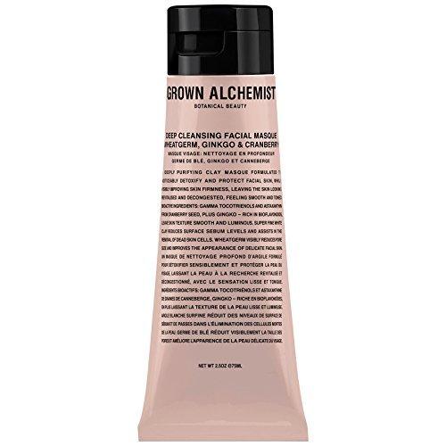 Cultivé Alchemist Deep Cleansing Masque de germe de blé Ginkgo & Cranberry 65ml