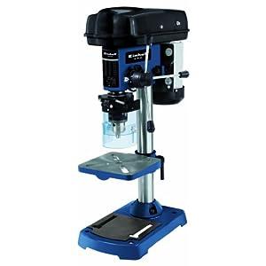 Einhell BT-BD 501 – Taladro de columna, 9 niveles, 280 – 2350 rpm, 500 W, 230 V, color negro y azul