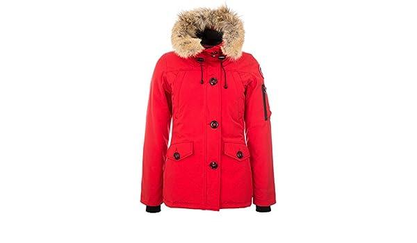 Canada Goose Damen Daunenparka Montebello Rot S (36