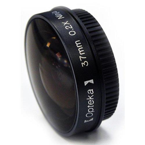 "Opteka Platinum Series 0.2x A basso profilo ""Ninja fisheye per Canon VIXIA HF M31, M32, HF10, HF11, HF100, HF20, HF21, HG21, HR10, HV10, DC40, DC50, Ivis HV10, Legria HF M31M32e videocamere digitali"