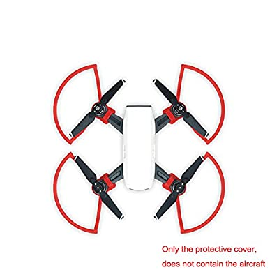 scorel Quick Install & Quick Release Propeller Guard Propeller Protectors For DJI Spark Drone Do Not Affect Flight And Control (4 Pieces)