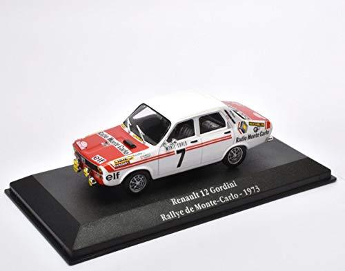 OPO 10 - Atlas Collection 1:43: Renault 12 Gordini Rally Monte Carlo 1973 (G018)