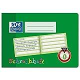 Oxford Schreiblernheft, A5 quer, Lineatur 0, 16 Blatt, grün (3, A5 quer, Lineatur 0)