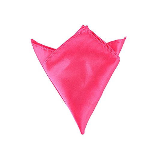 Sitong Hommes Solid Color Pocket Squares Mouchoirs de mariage 18