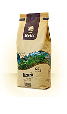 Café Britt Costa Rica Tarrazú Montecielo Arabica Whole Bean Coffee 908 g Pack by Lösung CR GmbH (Authorized Distributor of Café Britt)