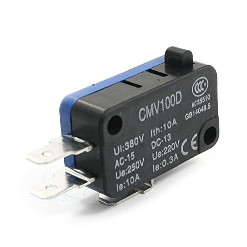 Aexit cmv100d 220V 0,3A SPDT Momentary Push Button Endschalter - Mikroschalter Endschalter