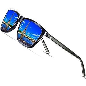 KITHDIA Gafas de Sol Polarizadas Unisex Protección UV400 para hombres y mujeres Conducir Pescar Ir en bicicleta Esquiar Golf Aire Libre Viajes Playa - Lentes Rosado