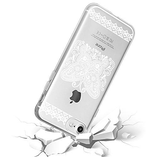 Mandala Handy Backcover für - Apple iPhone 7 - Schutzhülle indische Sonne Henna Motiv: Motiv 3 Motiv 1