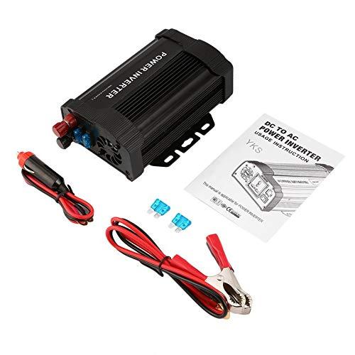 ghfcffdghrdshdfh P-Serie Portable Auto Power Inverter 800W Solar-Inverter DC12V AC110V Modified Ladegerät-Energien-Konverter-Adapter 800w 800 Watt Power Inverter