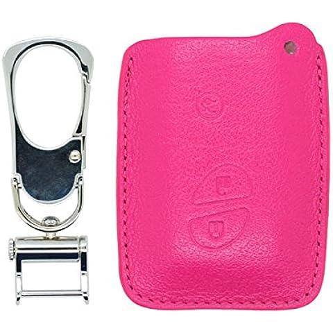 Genuine Leather Bag Key Case Holder fit for LEXUS Smart Key 3 Button 6406