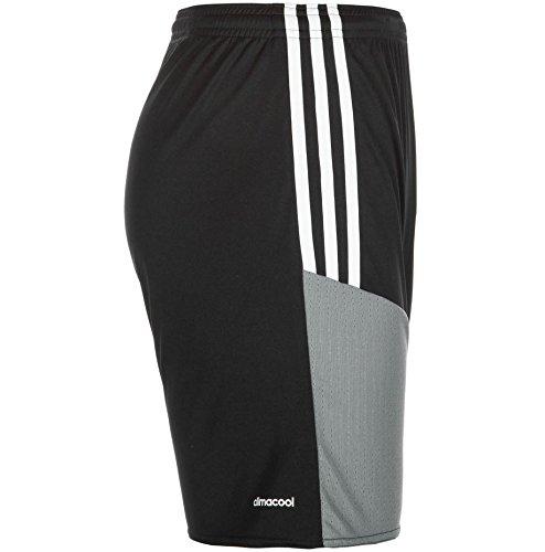 Adidas Regi 16 Sho Short per Uomo Nero/Bianco/Grigio (Nero/Bianco/Grivis)