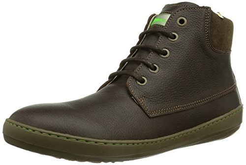 El Naturalista METEO, Scarpa classica stringata, modello Derby Uomo, Marrone (Braun (BROWN)), 41 (7 uk)