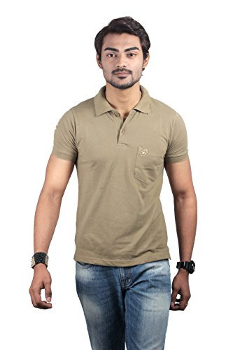 SPUR Men's polo Pique tees with chest pocket