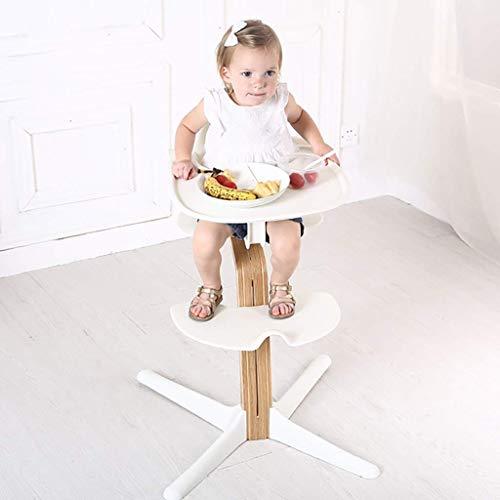 XHHWZB Seggiolone Moderno/Sedia per Bambini Pieghevole Multifunzionale per Bambino con Tavolo Regolabile 0-6 Anni