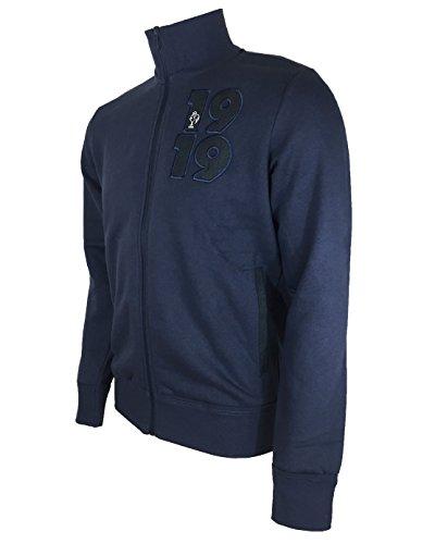 Adidas 1919 Collegiate-Giacca a maniche lunghe, da uomo, colore: blu/grigio/antracite, taglia: Blu - Bleu/Gris/Anthracite