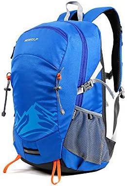 dba58e9302 CXJC Zaino da Escursionismo Nylon Impermeabile per Sport Sport Sport  all'Aperto Trekking Campeggio Viaggi Alpinismo Outdoor Cerniera con  Copertura ...
