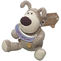 Boofle 5 Plush Toy I Love You To The Moon and Back (Wood Plaque) by Boofle