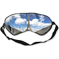 Schlafmaske, Paris Seide, leicht, atmungsaktiv, bequem, weich, mit verstellbaren Kopfgurten für Frauen preisvergleich bei billige-tabletten.eu