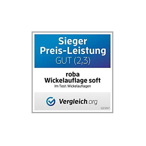 """roba 0808 F150 Wickelauflage mit phthalatfreier Folie """"Waldhochzeit"""", 75 x 73 cm - 4"""