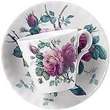 Roy Kirkham English Rose Espresso Tasse und Untertasse