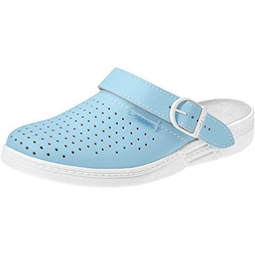 The white occupational light original 983 blue Abeba clog 17 2cm shoe wqWtAA6gSv