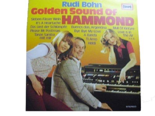 Golden sound of hammond / Vinyl record [Vinyl-LP] (Versand Fässer)