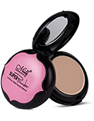 poudre de visage, Greencolourful Poudre visage maquillage Correcteur stéréoscopique léger Couche double Poudre pressée Poudre compacte,B#