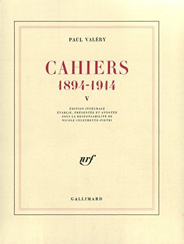 Cahiers par Paul Valéry