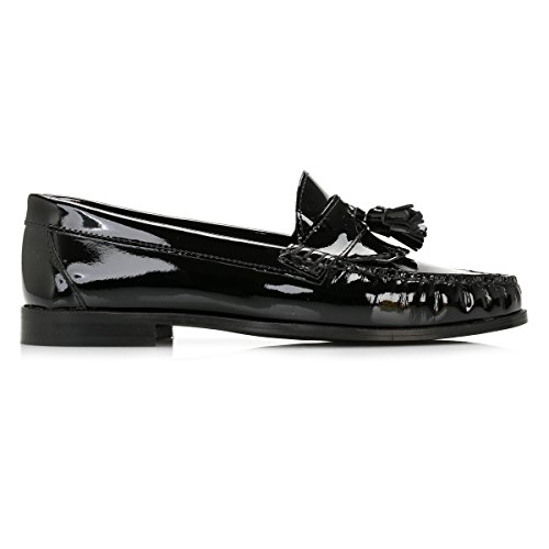 Tower Cuoio Nero Tassel Loafers Patent Donna Nero Owvfvx8a1q